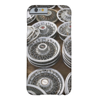 USA, New Mexico, Prewitt: Auto Hubcaps / Rt. 66 Barely There iPhone 6 Case