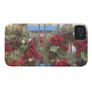 USA, New Mexico, Santa Fe: Canyon Road Gallery 3 iPhone 4 Case-Mate Cases