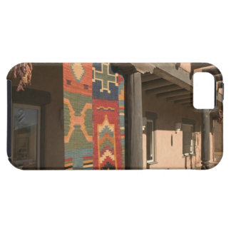 USA, New Mexico, Taos: Navaho Rug Gallery Kit iPhone 5 Case