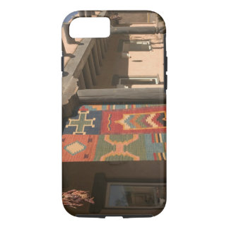 USA, New Mexico, Taos: Navaho Rug Gallery Kit iPhone 8/7 Case