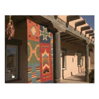 USA, New Mexico, Taos: Navaho Rug Gallery Kit Postcard