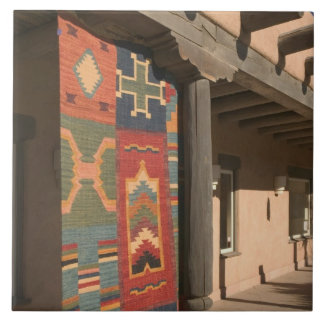 USA, New Mexico, Taos: Navaho Rug Gallery Kit Tile