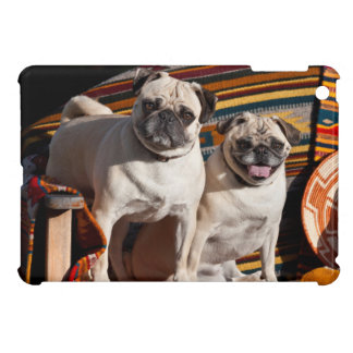USA, New Mexico. Two Pugs Together iPad Mini Cover