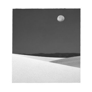 USA, New Mexico, White Sands National Monument. Notepad