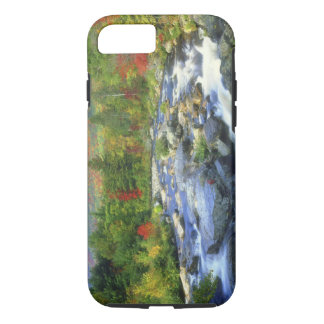 USA, New York. A waterfall in the Adirondack iPhone 8/7 Case