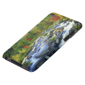 USA, New York. A waterfall in the Adirondack iPod Touch Covers