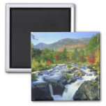 USA, New York. A waterfall in the Adirondack Magnet
