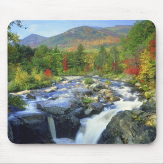 USA, New York. A waterfall in the Adirondack Mouse Mat