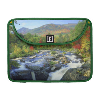 USA, New York. A waterfall in the Adirondack Sleeve For MacBooks