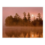 USA, New York, Adirondack Park. Sunrise on a Postcard