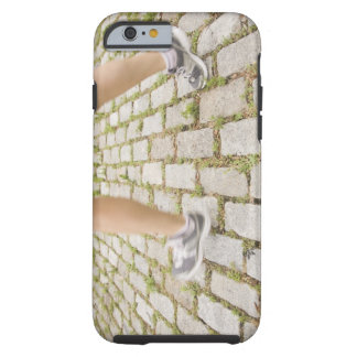 USA, New York City, Blurred legs of woman Tough iPhone 6 Case
