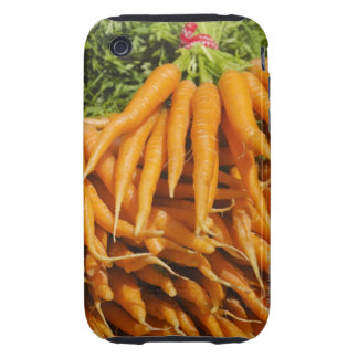 USA, New York City, Carrots for sale 2 Tough iPhone 3 Cases