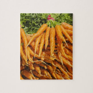 USA, New York City, Carrots for sale 2 Jigsaw Puzzle