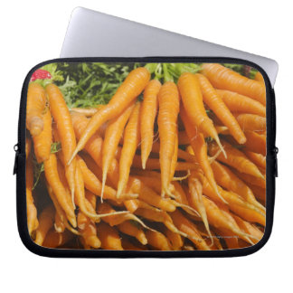 USA, New York City, Carrots for sale 2 Laptop Sleeve