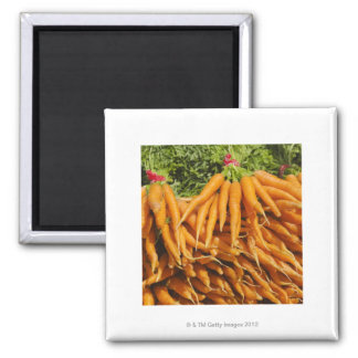 USA, New York City, Carrots for sale 2 Magnet
