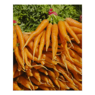 USA, New York City, Carrots for sale 2 Poster