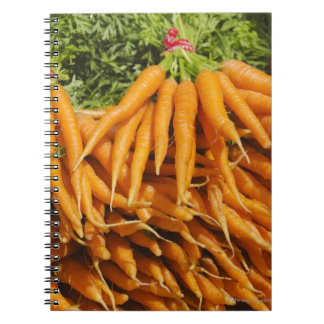 USA, New York City, Carrots for sale 2 Spiral Notebook