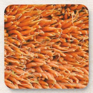 USA, New York City, Carrots for sale Coaster