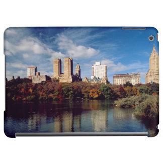 USA, New York City, Central Park, Lake