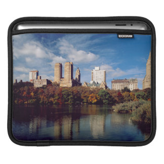 USA, New York City, Central Park, Lake iPad Sleeve