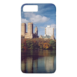 USA, New York City, Central Park, Lake iPhone 7 Plus Case