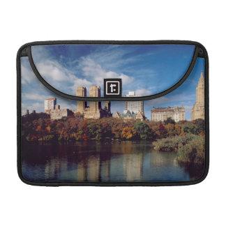USA, New York City, Central Park, Lake MacBook Pro Sleeves