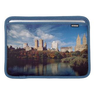 USA, New York City, Central Park, Lake MacBook Sleeves