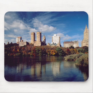 USA, New York City, Central Park, Lake Mouse Mat