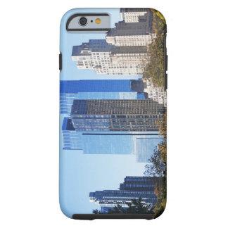 USA, New York City, Central Park with skyline Tough iPhone 6 Case