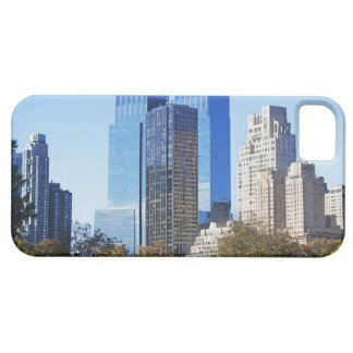 USA, New York City, Central Park with skyline iPhone 5 Covers