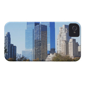 USA, New York City, Central Park with skyline iPhone 4 Case-Mate Case