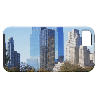 USA, New York City, Central Park with skyline Tough iPhone 5 Case