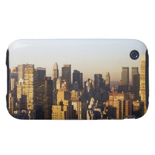 USA, New York City, Manhattan skyline 2 iPhone 3 Tough Cover