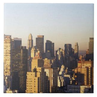 USA, New York City, Manhattan skyline 2 Tile