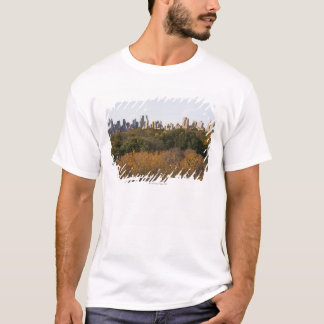 USA, New York City, Manhattan skyline from T-Shirt