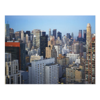 USA, New York City, Manhattan skyline Postcard