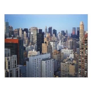 USA New York City Manhattan skyline Postcard