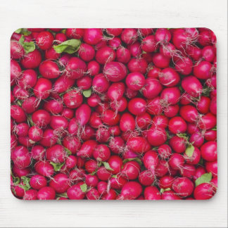 USA, New York City, Radishes for sale Mouse Mat