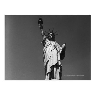 USA New York City Statue of Liberty Postcard