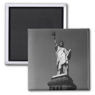 USA New York City Statue of Liberty Square Magnet
