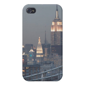 USA, New York City, View of Manhan Bridge, Case For iPhone 4