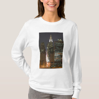 USA, New York City, View of Midtown with T-Shirt