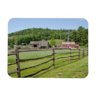 USA, New York, Cooperstown, Farmers' Museum Rectangular Photo Magnet