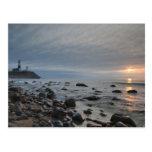 USA, New York, East Hampton. Montauk Point Postcard