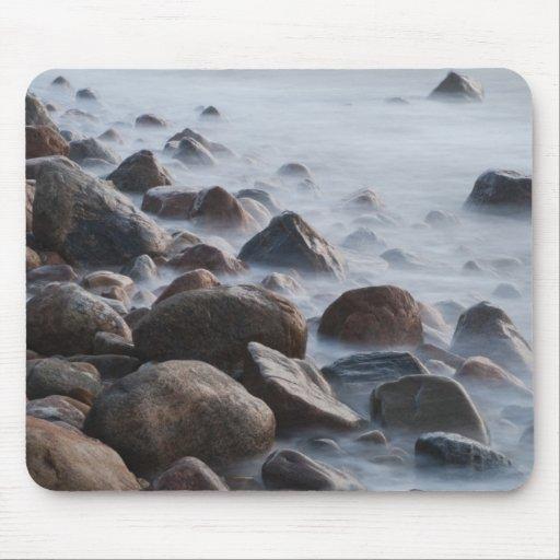 USA, New York, East Hampton. Ocean surf at Mousepad