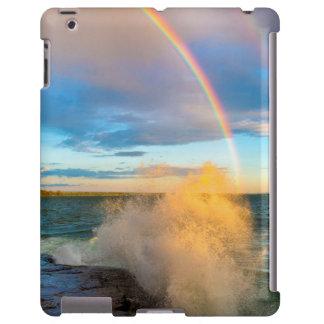 USA, New York, Lake Ontario, Clark's Point iPad Case