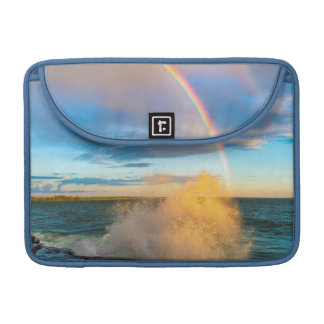 USA, New York, Lake Ontario, Clark's Point Sleeve For MacBook Pro