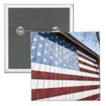 USA, New York, Long Island, The Hamptons. 15 Cm Square Badge