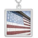 USA, New York, Long Island, The Hamptons. Square Pendant Necklace