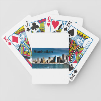 USA New York Manhattan (St.K) Bicycle Playing Cards